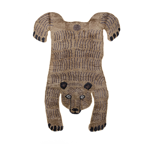 Bear design Teresa Moorhouse, non allergic silk mix