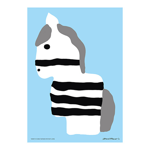 HORSE poster by Jenni Tuominen