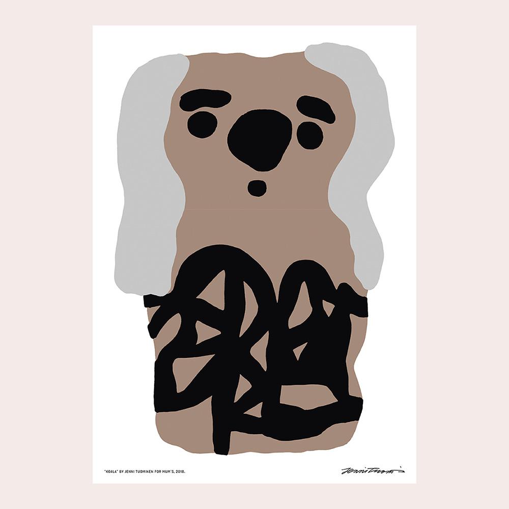 KOALA poster by Jenni Tuominen