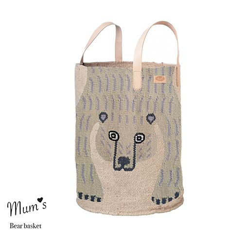 PRE ORDER! Bear basket natural