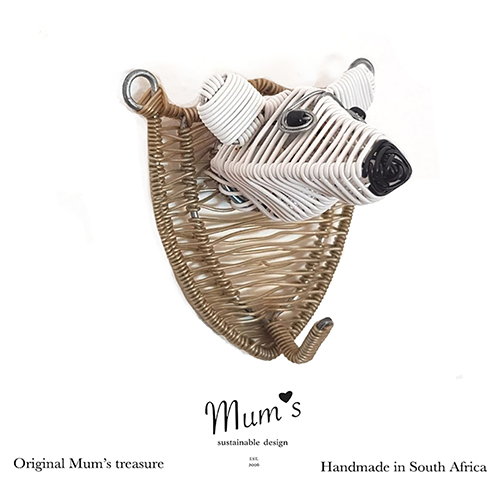 Mum's ZOO, Polar bear wallhook