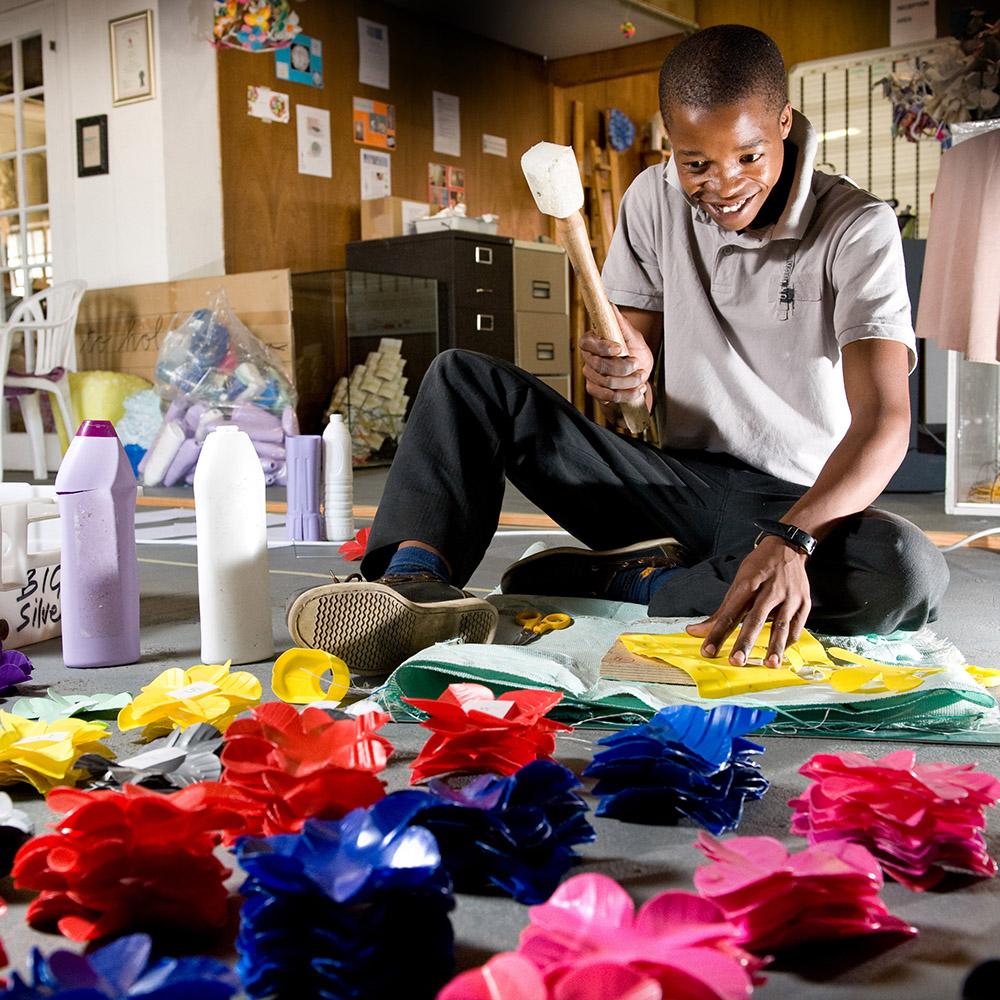 Flowerball design Heath Nash