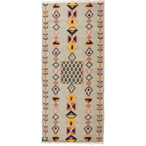 Valhalla rug with secret pattern