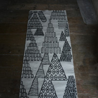 KUKKAKETO rug on floor recycled HR