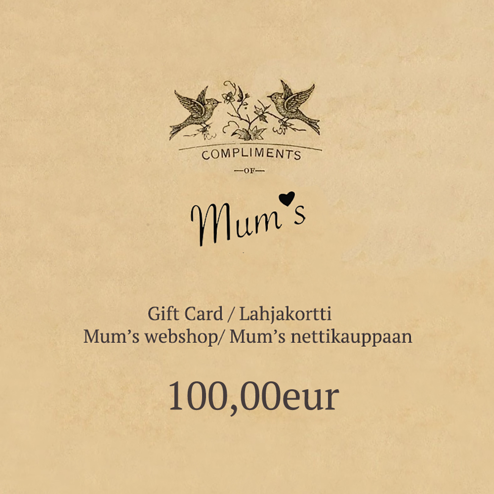 100eur eLahjakortti / eGift Card