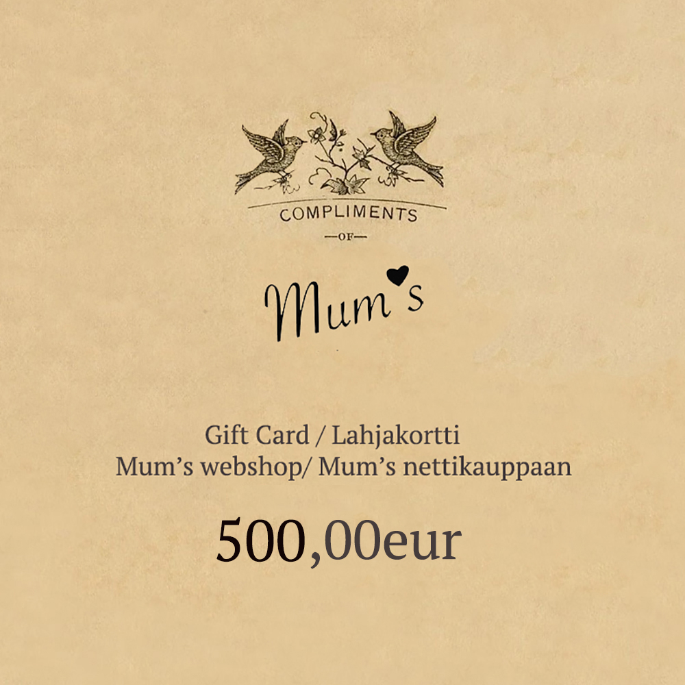 500eur eLahjakortti/ eGift Card