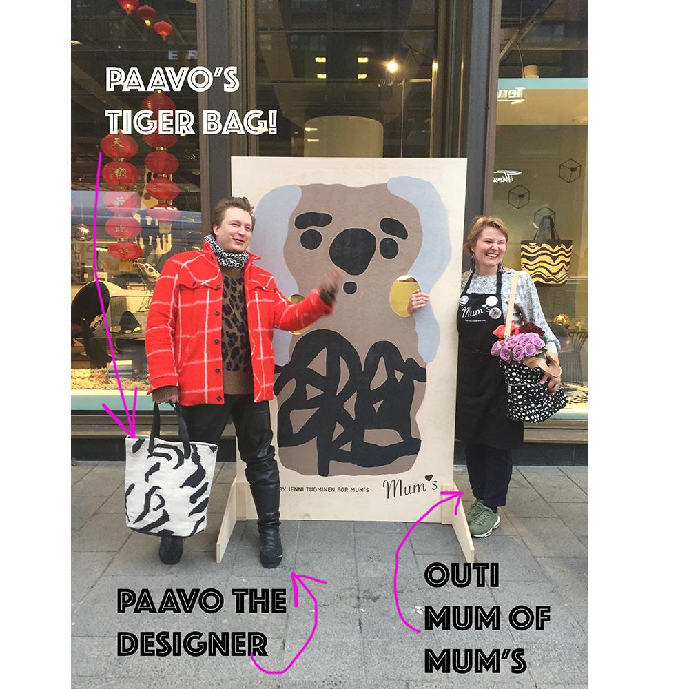 TIGER bag by Paavo Halonen